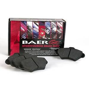 New Baer Sport DecelaPad Rear Brake Pads 1999-2010 Ford E250 E350 D0802