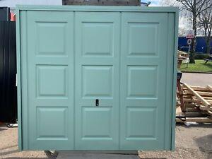 Georgian Steel Door 2286 x 2134 - White