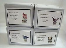 PHB Midwest of Cannon Falls Hinged Boxes  - BUTTERFLY SERIES Set of 4