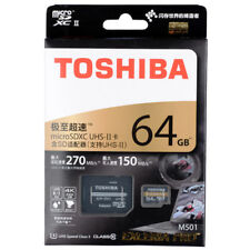 TF EXCERIA PRO thn-m501g0640e7 Tarjeta 4k MicroSD SDXC TOSHIBA UHS-II M501 U3
