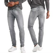 Jeans Uomo Pantaloni 5 Tasche Denim Casual Slim Comfort pantalone elastico