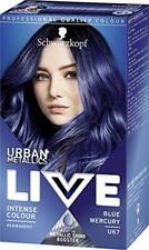 Schwarzkopf Live Intense Colour BLUE MERCURY U67 Urban Metallics