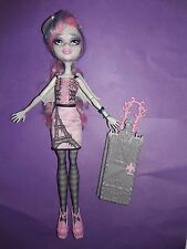 Monster High Rochelle Goyle Scaris Doll w/ Outfit Wings Dress Shoes Tights Hat +