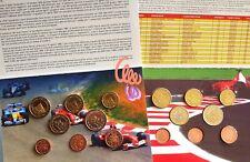 SAN MARINO  & MONACO  GRAND-PRIX patterns  EURO 1 ct à 2 Euro = 16  Patterns in