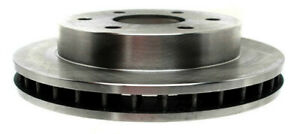 Disc Brake Rotor-Non-Coated Front ACDelco 18A258A