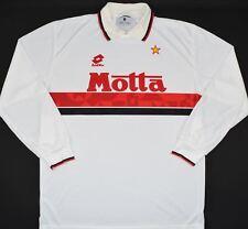 1993-1994 AC MILAN LOTTO AWAY FOOTBALL SHIRT (SIZE L)