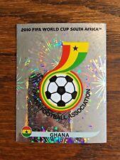 GHANA TEAM PANINI FOIL STICKER, WORLD CUP SOUTH AFRICA 2010 #SA316