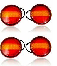 4x LED Rückleuchten Dynamischer Lauflicht L/R 140mm 12/24V E9