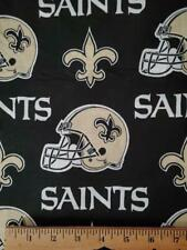 New Orleans Saints Fabric, Cotton Fabric, Cotton Material, Football Fabric,