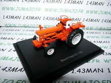 Tracteur 1/43 universal Hobbies n° 87 : RENAULT SUPER  D 1966