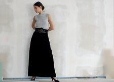 Vera Mont señora rock talla s skirt terciopelo negro 90er True vintage 90´s Women Wiesn