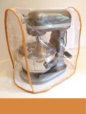 CLEAR MIXER COVER fits KitchenAid Bowl Lift - ORANGE Trim - (5 - 6 Qt. mixer)