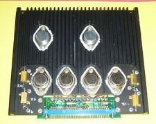 Verstärker Amplifier Modul Kühlkörper m 2x 2N6756 ( IRF130 )14A,100V,+4x 2N5631