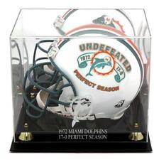 Miami Dolphins Golden Classic 1972 Commemorative Logo Helmet Case & Mirror Back