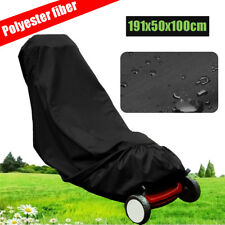 75X20X40'' Lawn Mower Cover Polyester Fiber Dust UV Protection Water Resistant