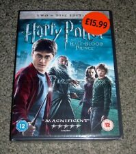 HARRY POTTER AND THE HALF BLOOD PRINCE DVD 2 DISC BRAND NEW FREE P&P UK