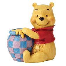 Disney Traditions 4054289 Winnie the Pooh with Honey Pot Mini Figurine