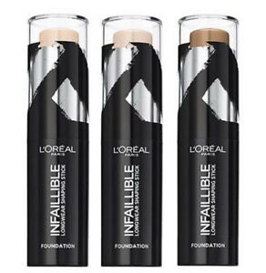 L'OREAL Infaillible Shaping Foundation Stick 9g - Choose Shade - NEW Sealed