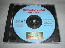 Barney Bear Goes to School - 1992 PC Computer CD Game by Free Spirit - VERY RARE
