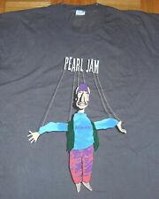 PEARL JAM T Shirt Freak Swallow Tour EDDIE VEDDER Single Stitch Vintage 90s XL