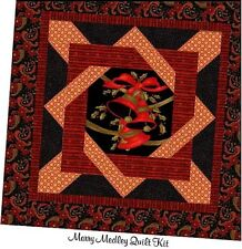 Merry Medley Quilt Kit Plus Bonus Set of Sewing Lables & Set of 6 Inch Squares !