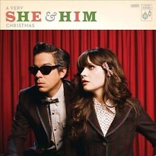 SHE & HIM A Very She & Him Christmas BRAND NEW Factory Sealed Vinyl Download too