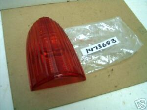 Mopar NOS Tail Lamp Lens 53 Chrysler NY,Windsor