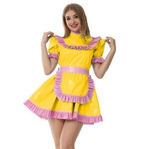 PVC sissy dress skirt cosplay costume Tailor-made