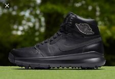 Air Jordan 1 Blackout Golf Shoes Size 10.5 New 🎁free Jordan Cooler Today