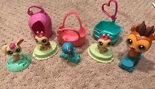 Littlest Pet Shop McDonalds Happy Meal 5 Pets Cats Dogs LPS Set