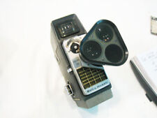 Vintage 8MM MOVIE CAMERA BELL & HOWELL ELECTRIC EYE WITH 3 LENS