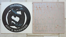 "PANKOW ‎– 2 Maxis:  Art & Madness Kunst & Wahnsinn 12"" & Me And My Ding Dong 12"""