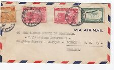 Stanleyville Belgium Congo Air Mail Cover to London - Belisch Congo - Covers