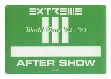 Extreme - World Tour `92 - `93 - Konzert-Satin-Pass - After Show - Sammlerstück