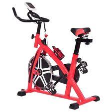 Adjustable Exercise Bike Cycle Trainer Stationary Cardio Fitness Bicycle w/ LED