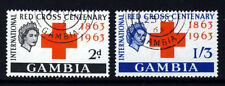 Red Cross British Colony & Territory Stamps