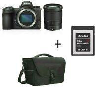 Nikon Z6 Mirrorless Digital Camera with 24-70mm Lens + 64 gb + Case /Stock in UK