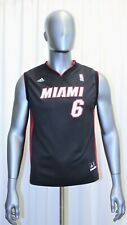maillot lebron james miami heat en vente | eBay