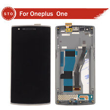 100% Authentic LCD Display Touch Screen Digitizer for OnePlus One WITH FRAME