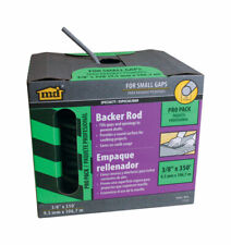 Caulk Backer Rod 3/8 in X 350 ft, No 71550,  M D Building Products Small Gaps