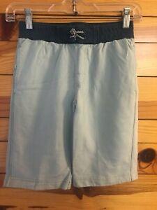 Tea Collection Blue-Green Shorts Boys Contrast Back Pocket Size 10