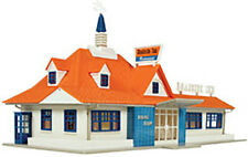 Atlas HO Scale Model Railroad Building Kit Roadside Restaurant/Diner