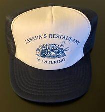 Vintage Zasada's Restaurant & Catering Trucker Hat - Depew, New York