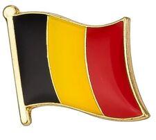 pin's drapeau Belgique 1,5 cm X 1,5 cm