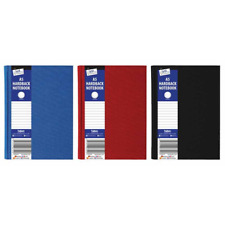 3x A5 HARDBACK LINED NOTEBOOK, NOTE PAD, STATIONARY, SCHOOL BOOKS