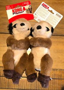 KONG Shakers Passports Meerkat Squeaks & Shakes Medium / Large Dog Toy