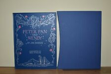 Peter Pan and Wendy - J M Barrie - Folio Society 2006 (E9) First Printing