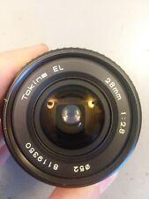 Tokina EL 28mm f/2.8 Wide Angle Lens for Canon FD 35mm Film SLR Camera
