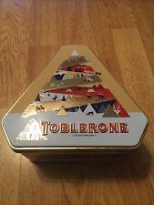 Toblerone Tinys Christmas Milk Dark White Swiss Chocolate Tin