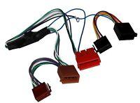 Adaptateur faisceau câble fiche ISO pour autoradio pour Audi A2 A3 A4 A6 A8 TT